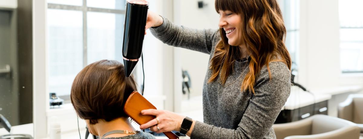 21 hair stylist business card